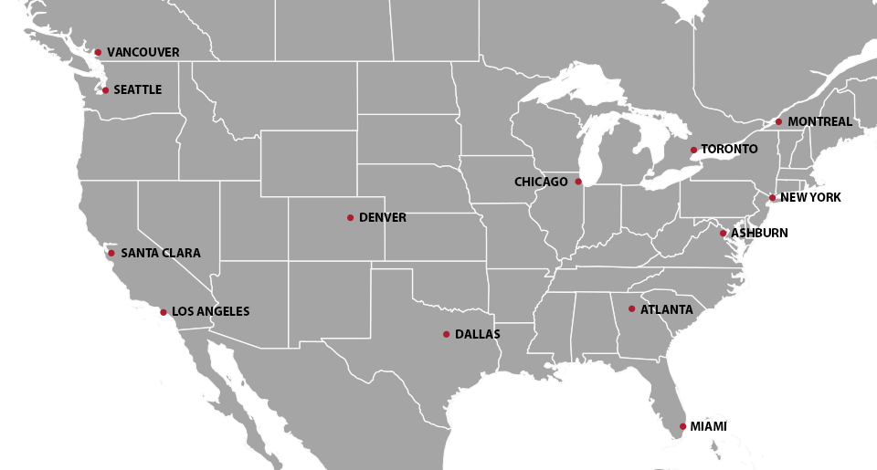 North America Instant Dedicated Servers